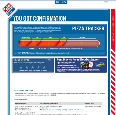 Domino's Pizza Online
